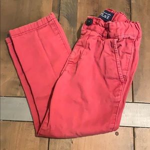 Red toddler pants